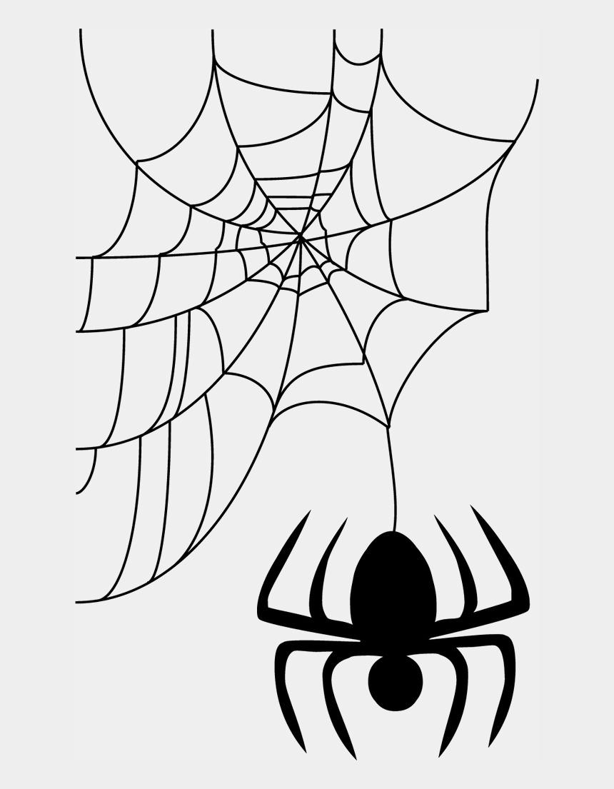 corner spider web clipart, Cartoons - Halloween Png Spider Web - Spider Web Vector Png