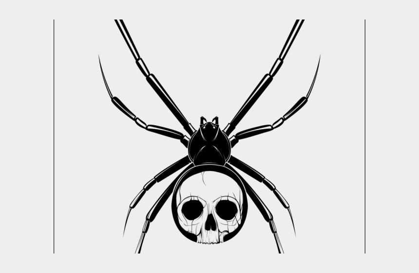 corner spider web clipart, Cartoons - Realistic Clipart Spider - Small Spider Design For Tattoo
