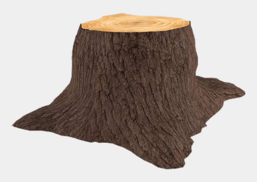 tree stump clipart black and white, Cartoons - 3d Tree Trunk - Tree Stump Transparent Background