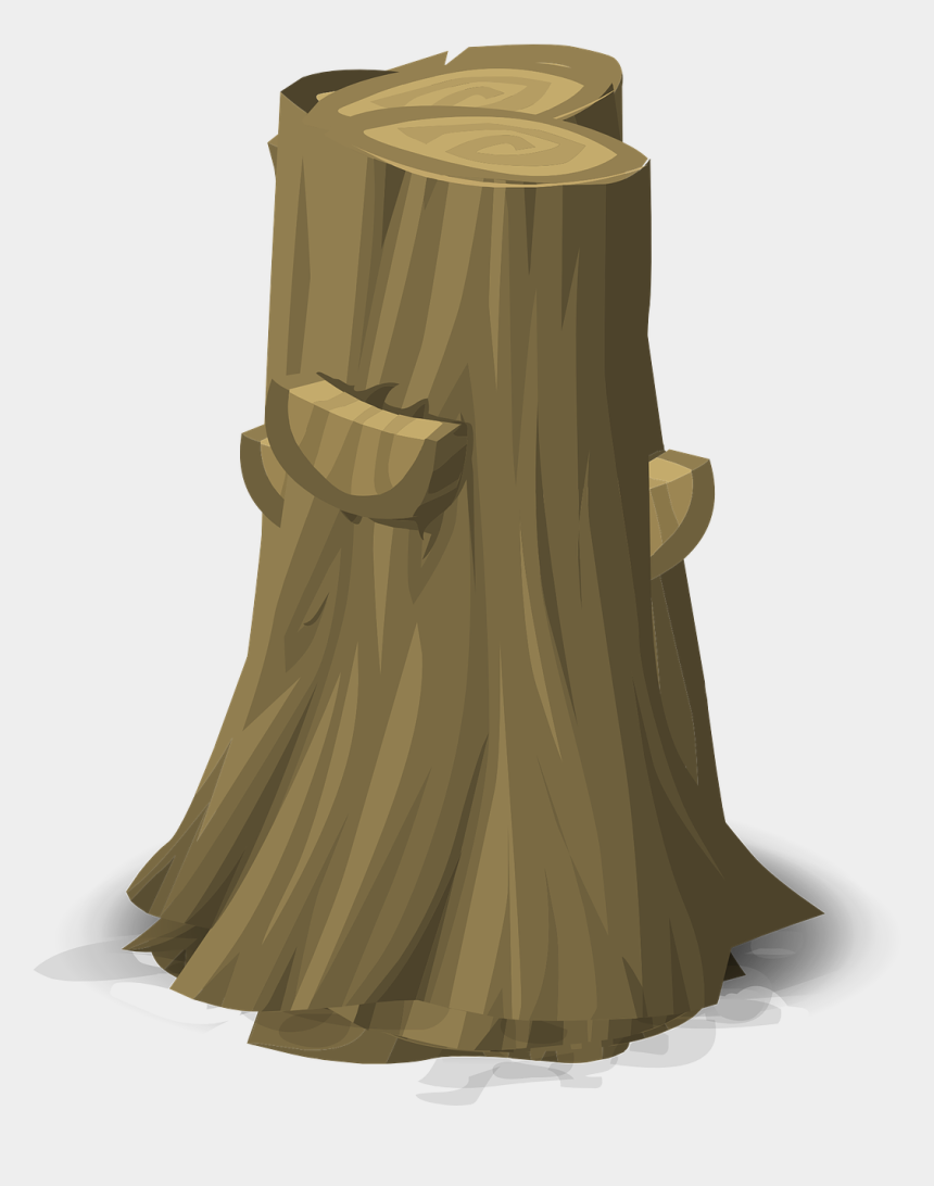 tree stump clipart black and white, Cartoons - Stump Tree Log Trunk Cut Png Image - Tree Cut Png