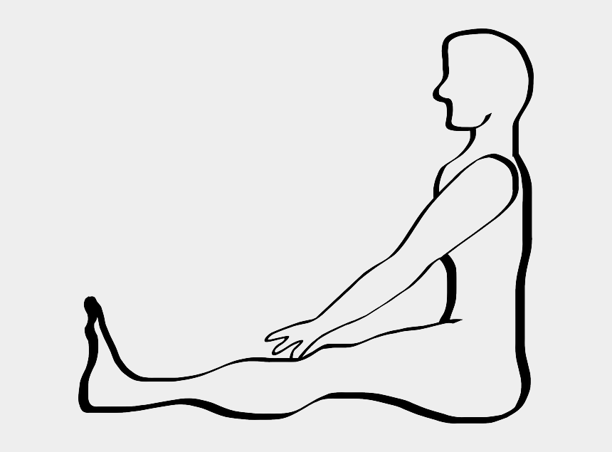 person drawing clipart, Cartoons - Outline Of A Person - Draw A Person Sitting