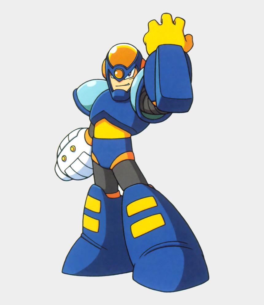 garbage man clipart, Cartoons - Garbage - Mega Man Flash Man