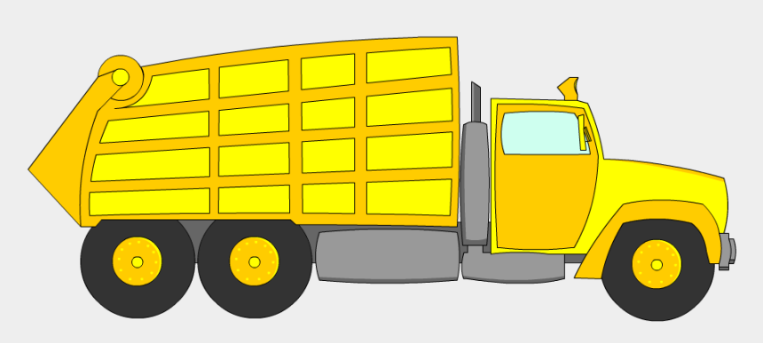 garbage man clipart, Cartoons - Clipart Of Garbage, Truck Of And 3d Truck - Truck