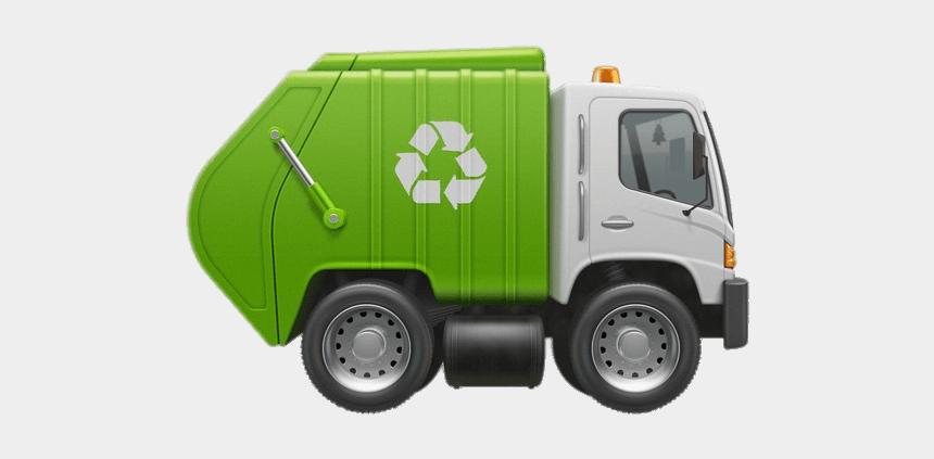 garbage man clipart, Cartoons - Tiny Garbage Truck - Camion De Basura Dibujo