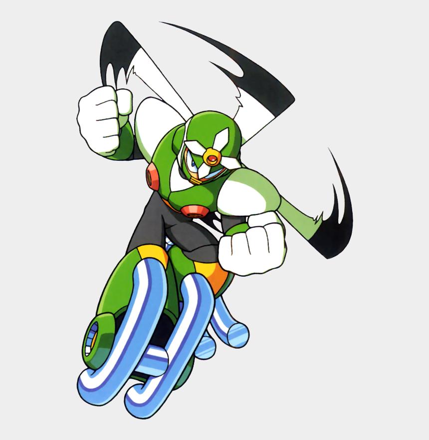 garbage man clipart, Cartoons - Villains, Bad Guys, Comic Books, Anime - Mega Man Gyro Man
