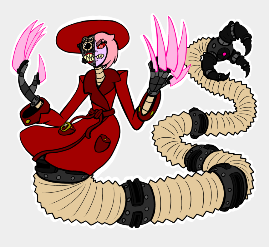 light saber clipart, Cartoons - Big Scary Cyborg Mafia Snake Lady By Ⓒ - Cyborg Mafia