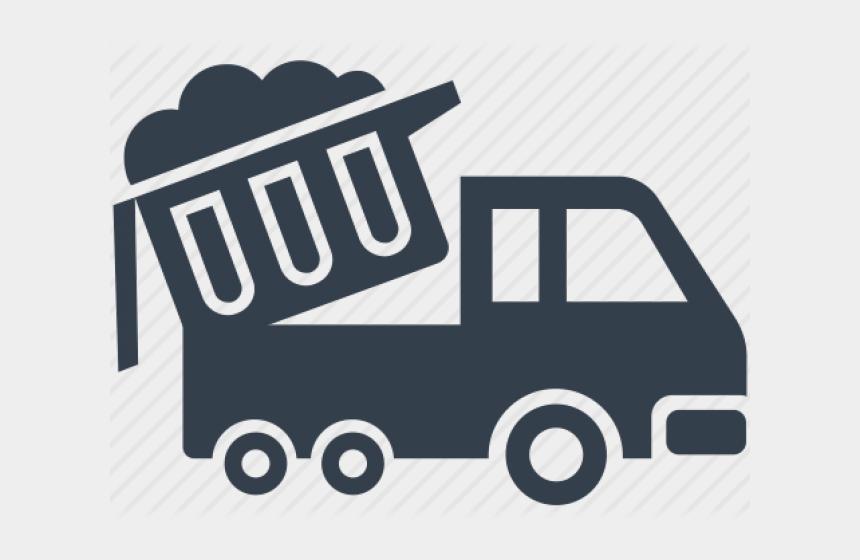 garbage man clipart, Cartoons - Garbage Truck Logo Png