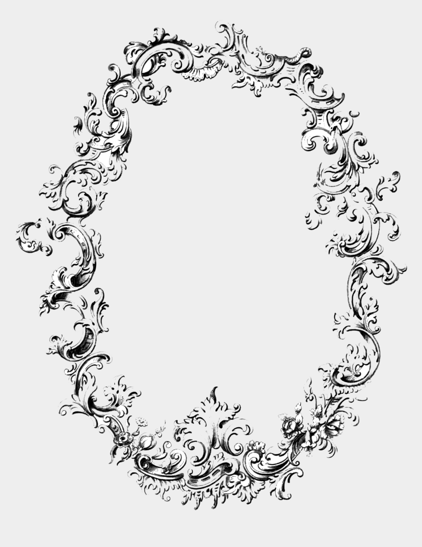 vintage frame clipart, Cartoons - This Png File Is About قديم , Photo , Antique , فارغ، - Oval Vintage Frame Png