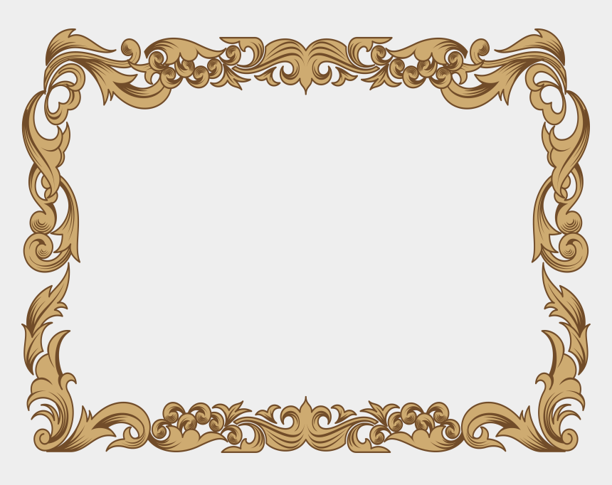 vintage frame clipart, Cartoons - Ornament Islamic Geometric Patterns - Islamic Frame Png Hd