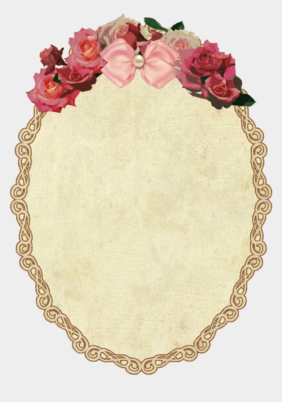 vintage frame clipart, Cartoons - Download Vintage Oval Frame With Flowers Transparent - Vintage Oval Frames Png