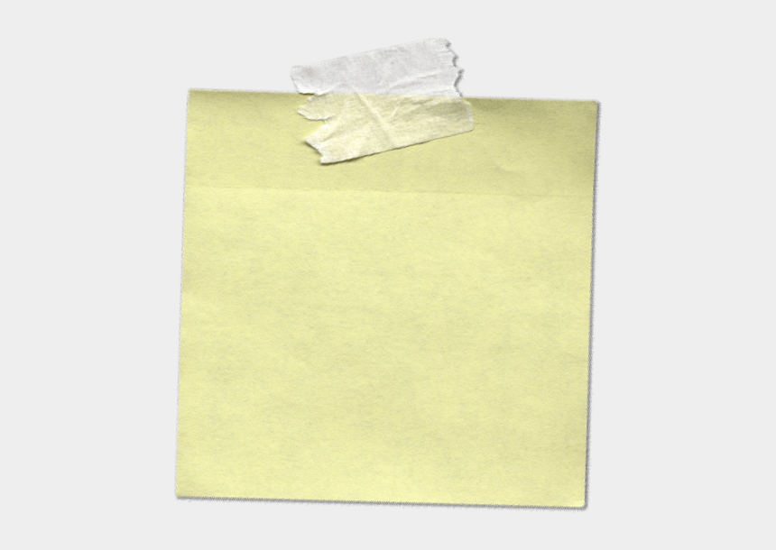 post it notes clipart, Cartoons - Ticky Note Png - Sticky Note