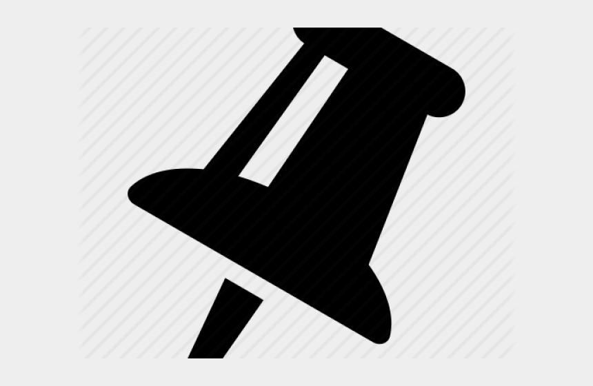 push pin clipart, Cartoons - Push Pin Icon - Sign