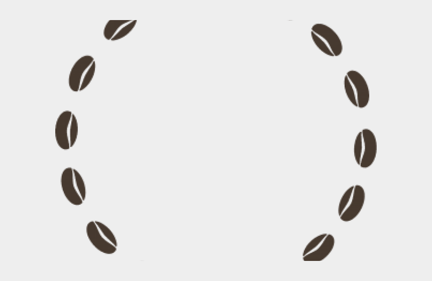 Coffee Beans Clipart Boarder - Coffee Bean Circle Png
