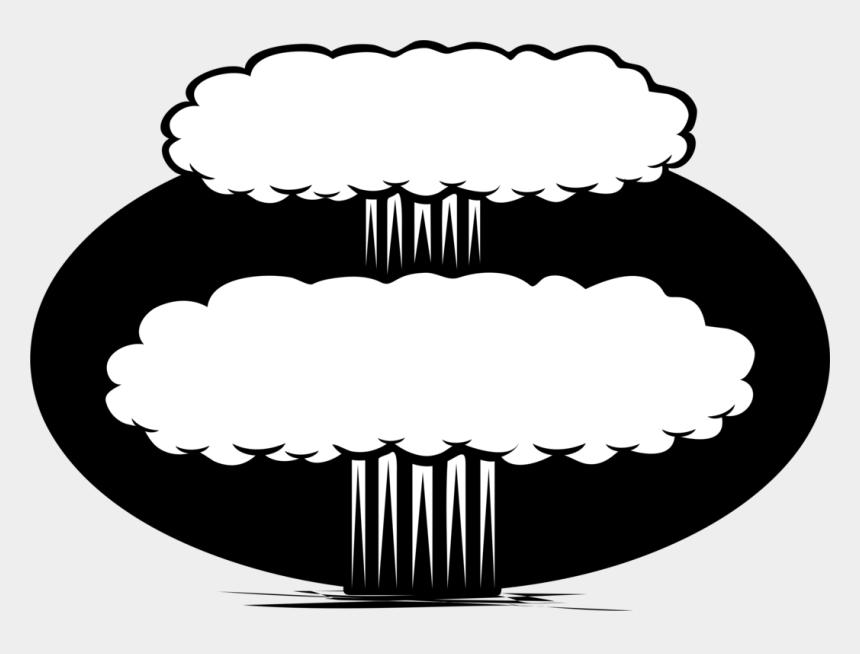 mushroom cloud clipart, Cartoons - Nuclear Warfare Nuclear Weapon Nuclear Power Nuclear - Nuclear Weapon