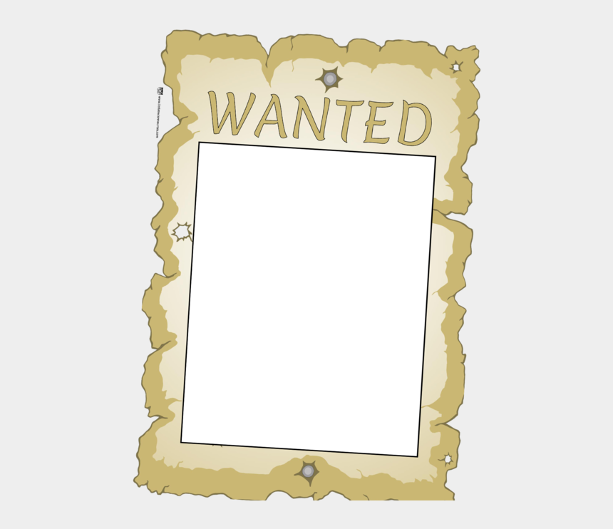 wanted poster clipart, Cartoons - Wanted Poster - Poster