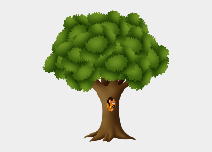bare tree trunk clipart, Cartoons - Tree Of Life - Illustration