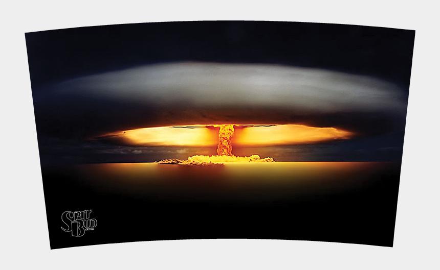 mushroom cloud clipart, Cartoons - Mushroom Cloud Spit Bud Mushroom Cloud Spit Bud - Sunset