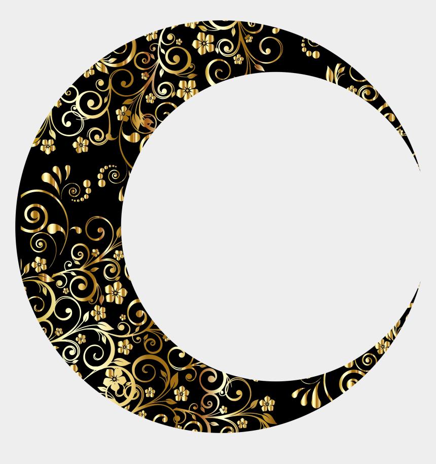 moon and star clipart, Cartoons - Clipart - Crescent Moon Art Png