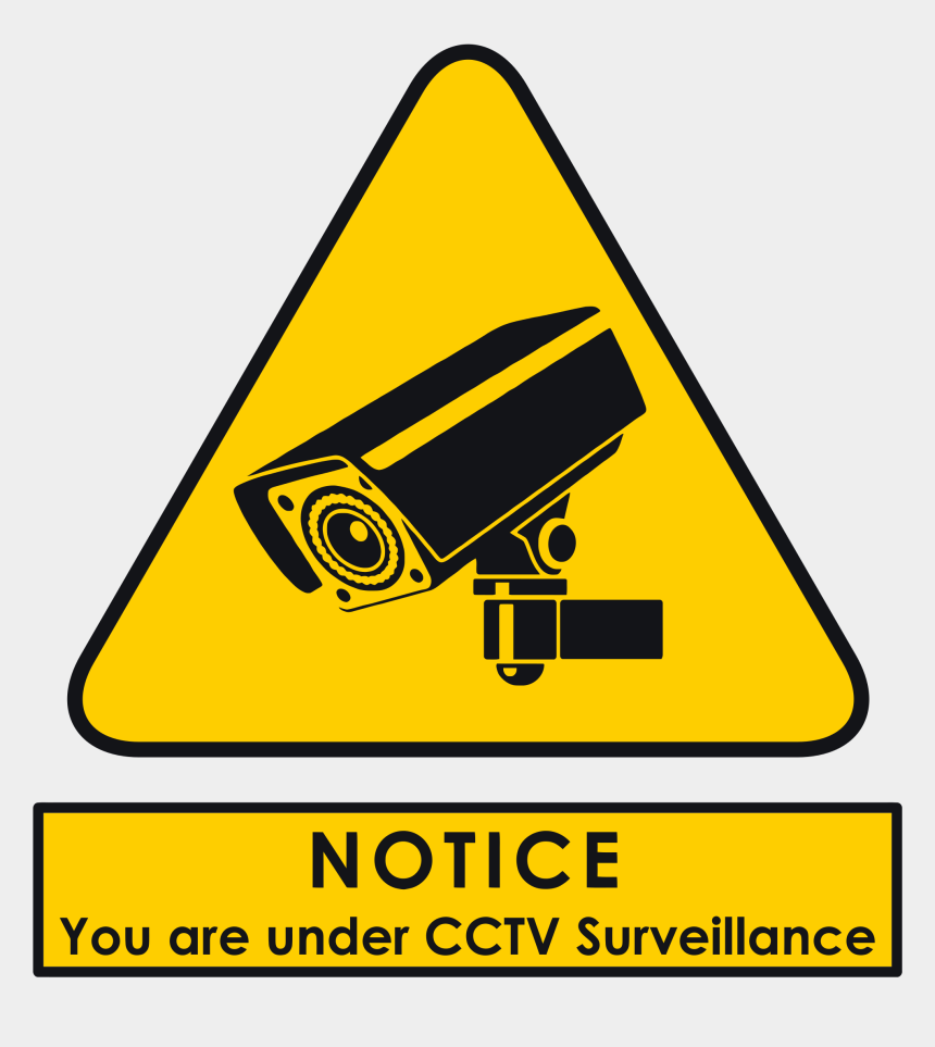 security cameras clipart, Cartoons - Signs Vector Security Camera - Your Under Cctv Surveillance