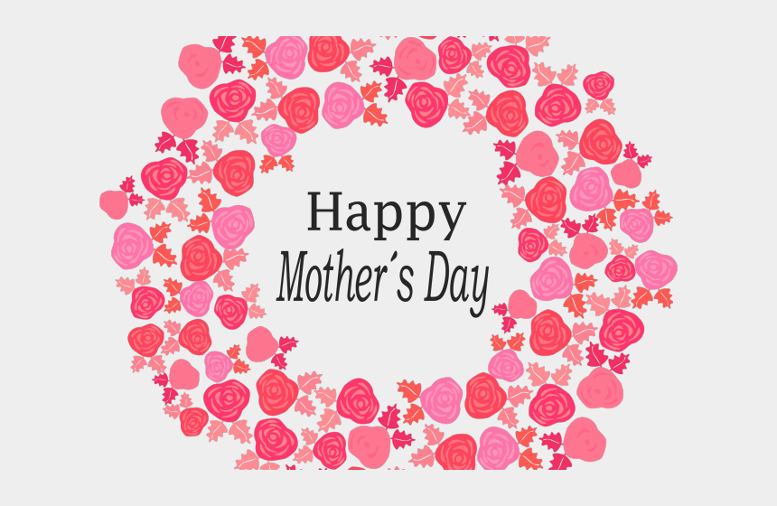 happy days clipart, Cartoons - Mother`s Day Clipart Red Happy - Tomorrow Is Mother's Day