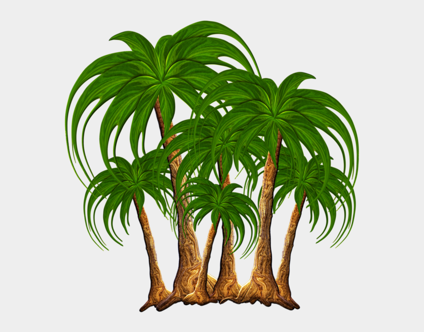coconut trees clipart, Cartoons - Image Du Blog Zezete2 - Png Nature Clip Art