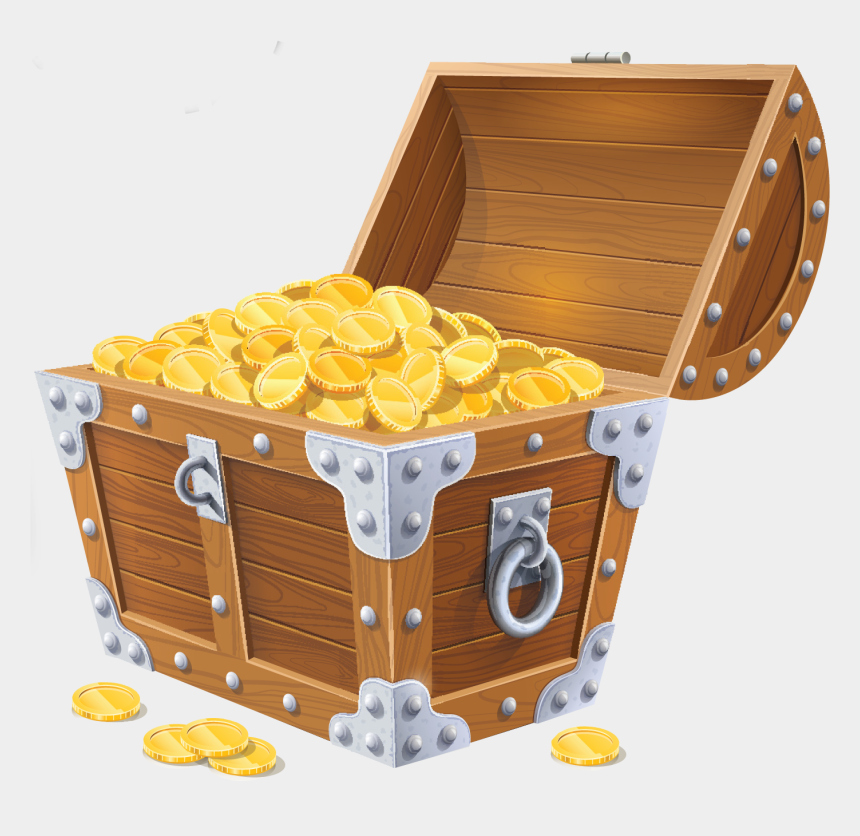 open treasure chest clipart, Cartoons - Treasure Chest Png Images Free Download - Treasure Chest Png