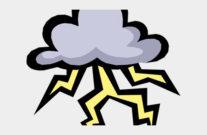 storm clouds clipart, Cartoons - Storm Cloud Clipart - Clouds With Lightning Cartoon