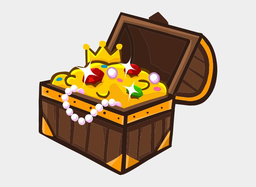 open treasure chest clipart, Cartoons - Treasure Chest Png - Сундук С Сокровищами Рисунок