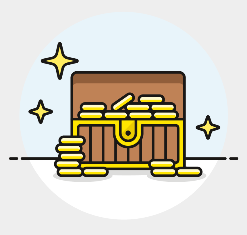 open treasure chest clipart, Cartoons - A Queen's Ransom