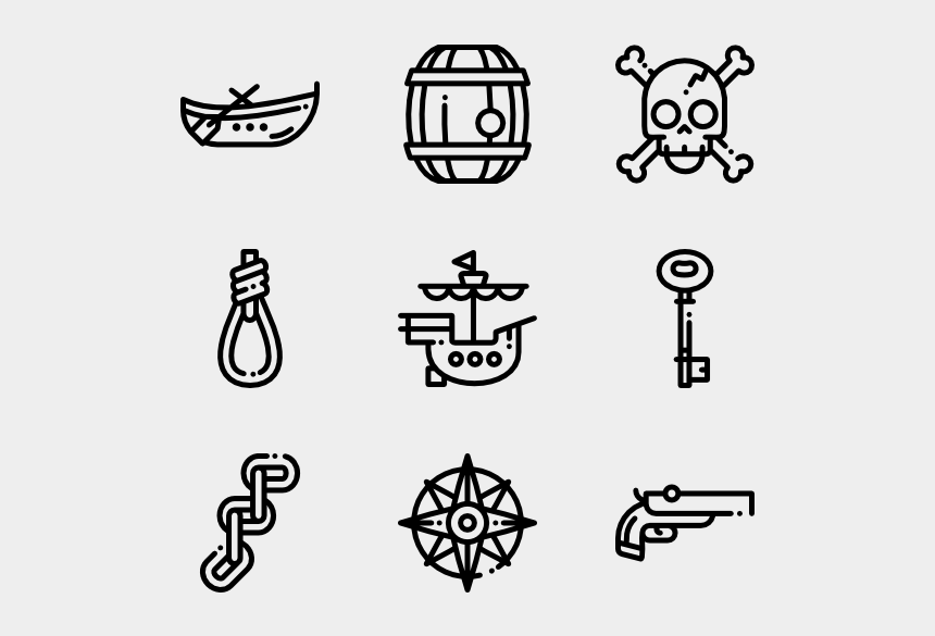 treasure chest clipart black and white, Cartoons - Treasure Map Png - School Icon Vector Png