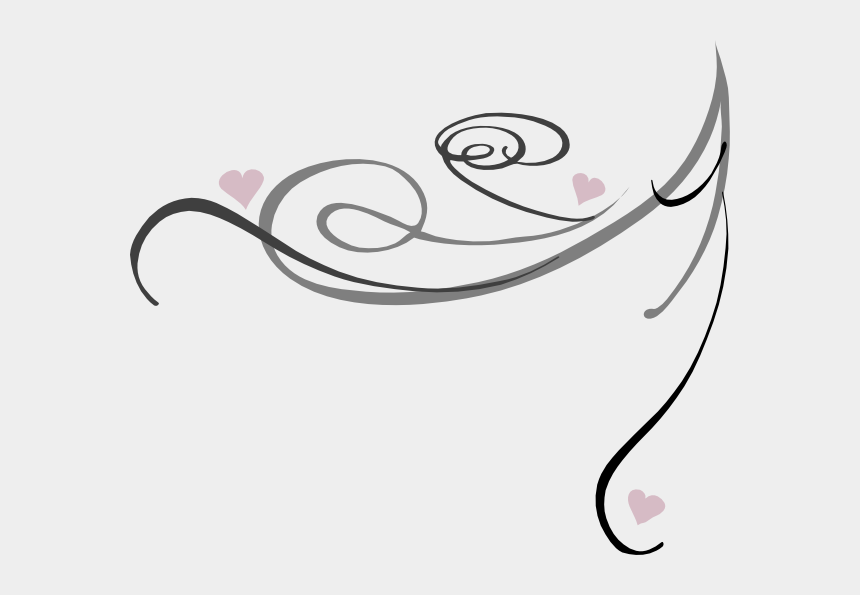 swirl design clipart, Cartoons - Decorative Swirls Png - Decorative Lines