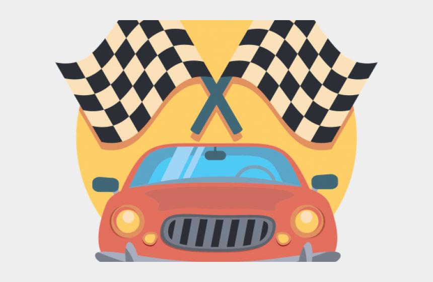 checkered flag clipart, Cartoons - Subaru Clipart Checker Flag - Car Race Clipart Png