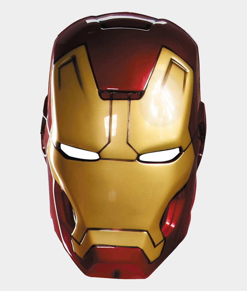 masks clipart, Cartoons - Masks Clipart Ironman - Iron Man Mask Movie