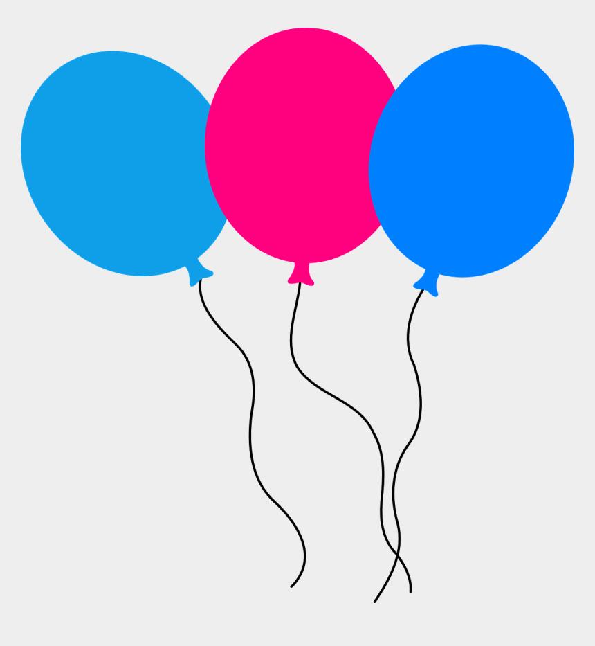 blue balloons clipart, Cartoons - Birthday Balloons Animated Transparent