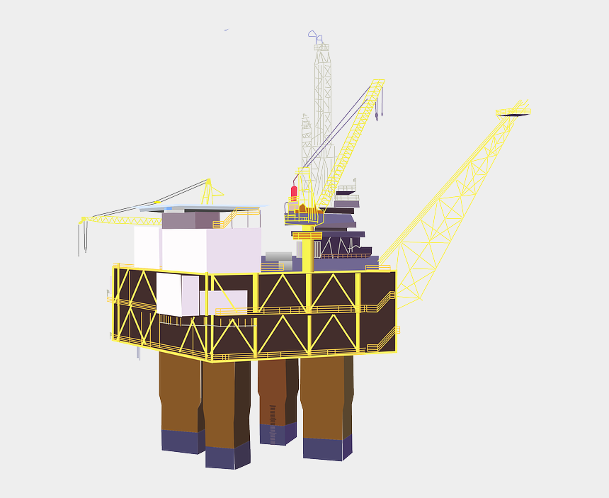 trading clipart, Cartoons - Pairs Trading & Going Deep With Drillers - Oil Rig Clip Art