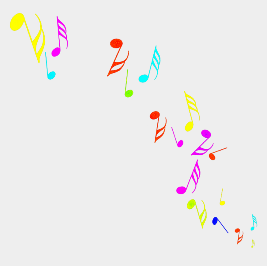 colorful music clipart, Cartoons - #music #musicnotes #colorful #notes - Music Symbols
