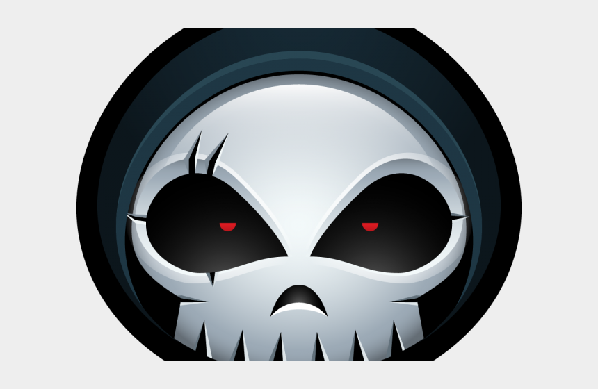 reaper clipart, Cartoons - Reaper Clipart Reaper Skull - Cartoon Transparent Transparent Background Skull Icon