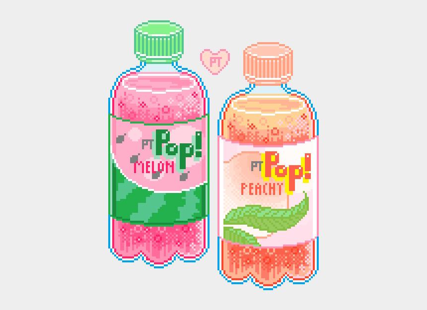 soda pop clipart, Cartoons - #soda #pop #sodapop #aesthetics #sticker #pixelated - Kawaii Aesthetic Pixel Art