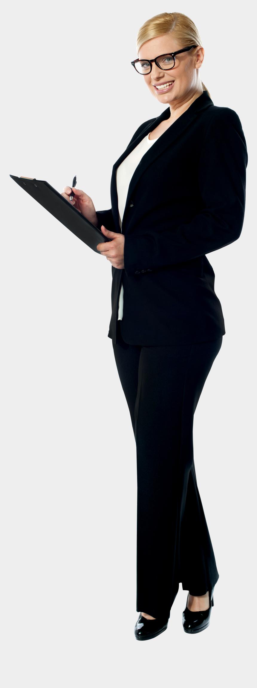 business woman clipart, Cartoons - Business Women - Business Woman Standing Png