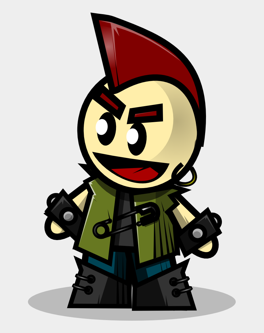 punk clipart, Cartoons - Free Cartoon Punk Clip Art - Punk Clip Art