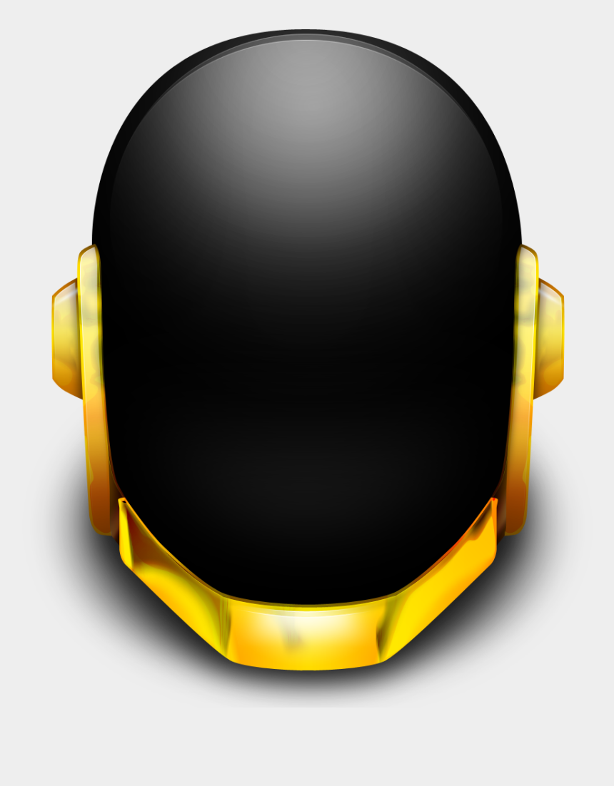 punk clipart, Cartoons - Daft Punk Helmet Png