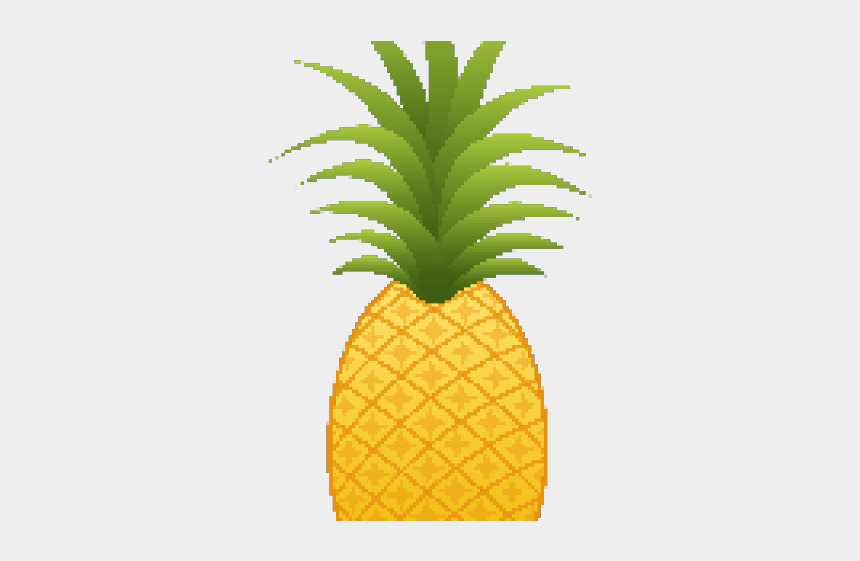 six clipart, Cartoons - Pineapple Clipart Six - Pineapple Clipart Transparent Background