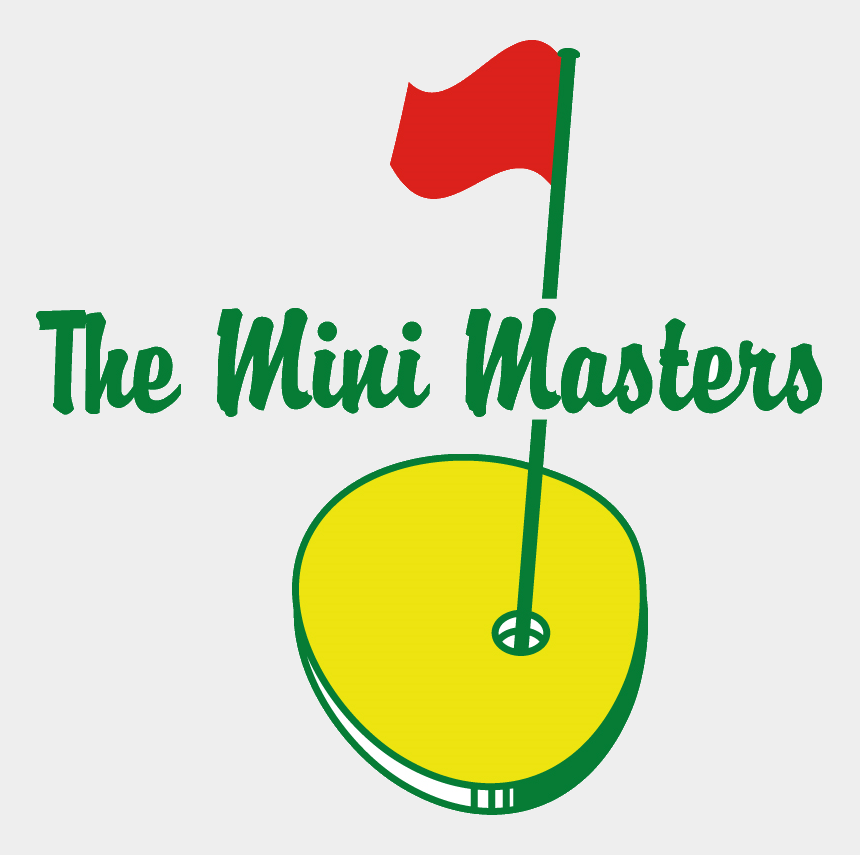 mini golf clipart, Cartoons - Mini Masters Golf Logo - Mini Masters