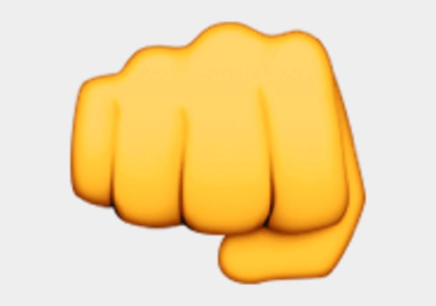 Fist Clip Art - Transparent Background Fist Emoji