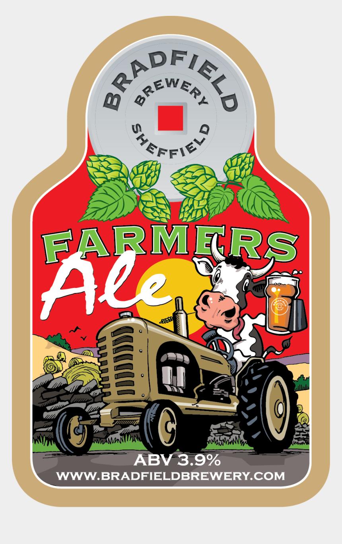 farmer on tractor clipart, Cartoons - Farmers Ale - Bradfield Brewery Farmers Ale