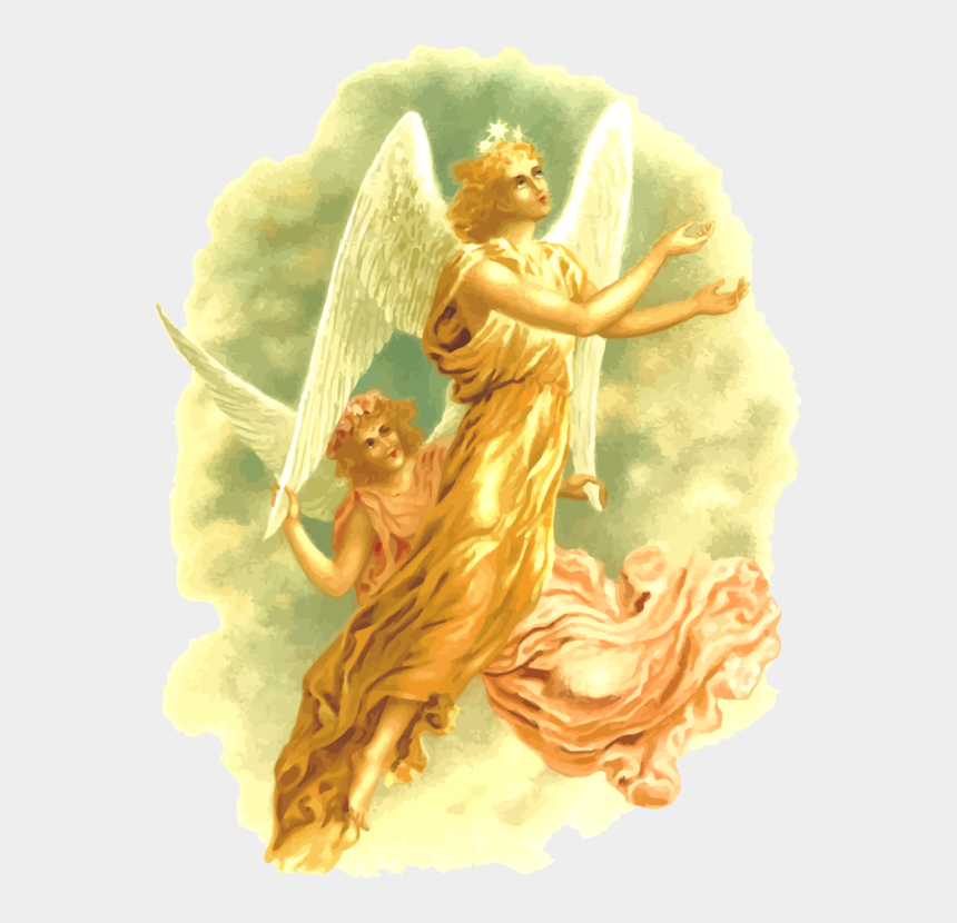 christmas angels clipart, Cartoons - Victorian Christmas Angel Computer Icons Drawing Many - Angel Revelation Png