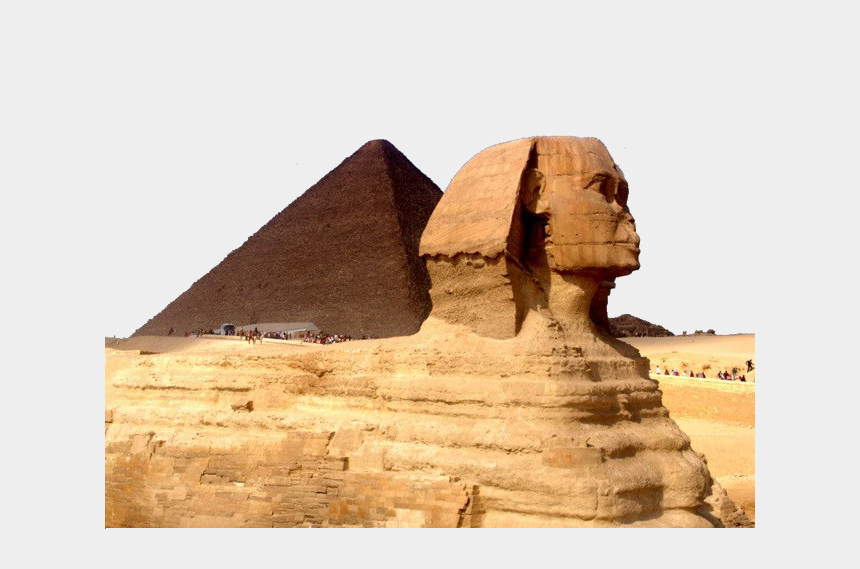 egyptian pyramid clipart, Cartoons - Egypt Pyramid Transparent Background - Great Sphinx Of Giza