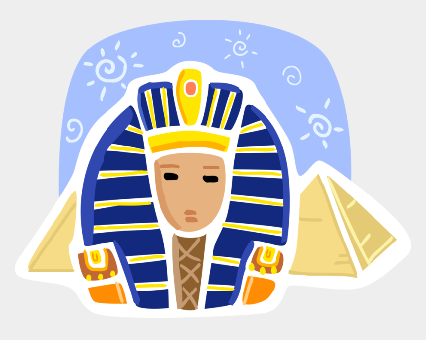 egyptian pyramid clipart, Cartoons - Vector Illustration Of Ancient Egyptian Pyramid Of - Sphinx Cartoon