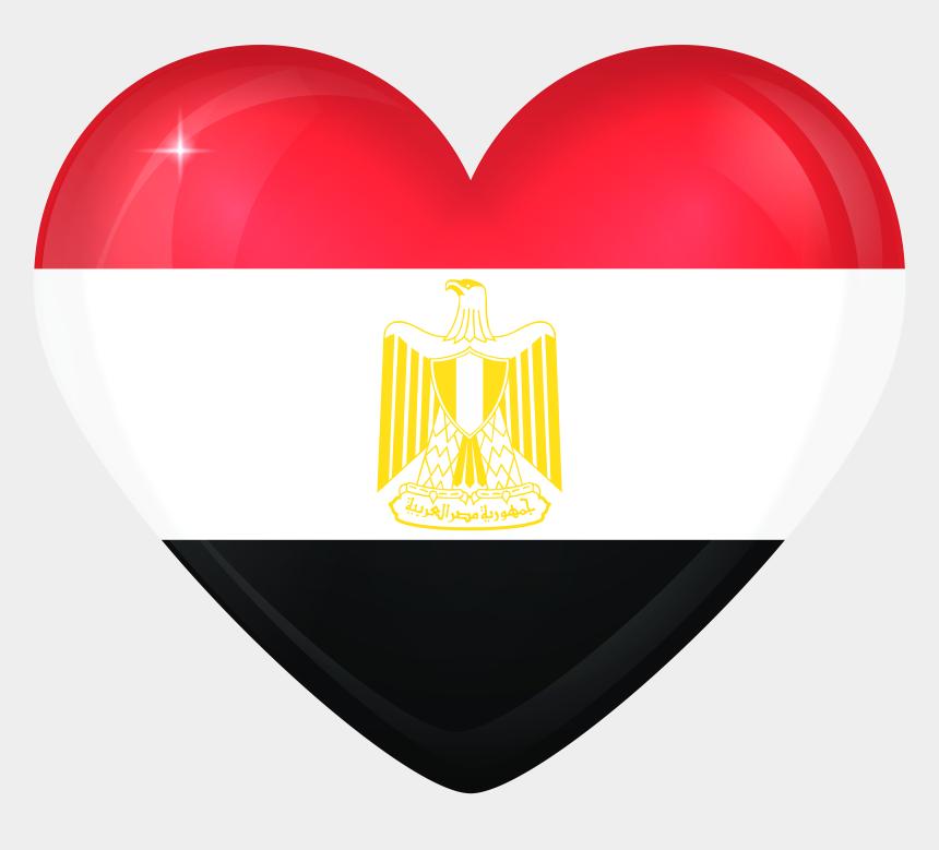 egyptian pyramid clipart, Cartoons - Egypt Large Heart Flag Gallery Yopriceville High Ⓒ - Flag Egypt Clipart Png