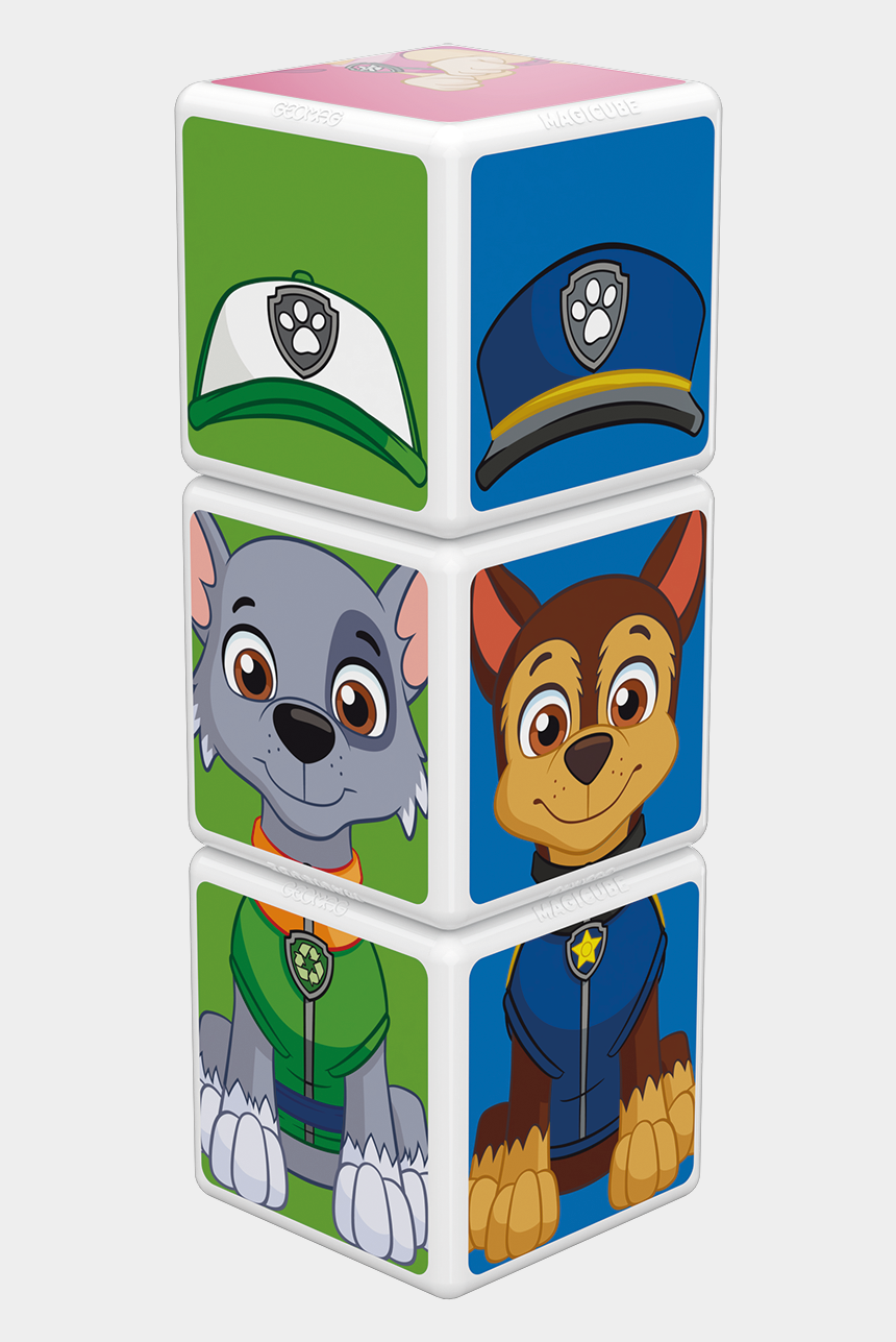 paw patrol clipart png, Cartoons - Paw Patrol Chase, Skye And Rocky - Cartoon